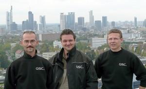 WLL-Team Region Mitte (ohne Axel Harbach), v.l.n.r.: Alexander Kainradl, André Köhler, Alexander Bruch