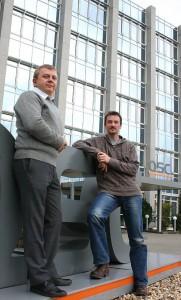 Alexandr Dubovikov und Heino Klier sind jetzt zertifizierte ACME-Engineers