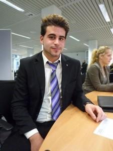 Speed-Day-Bewerber Jasin Berndt