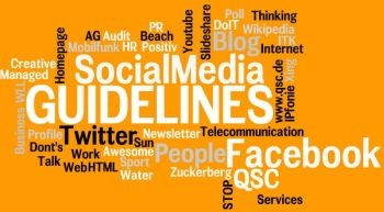 Social Media Guidelines bei QSC