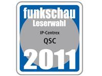 Funkschau-Leserwahl 2011: Auszeichnung für QSC.