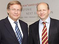 Harry K. Voigtsberger (l.) und Dr. Bernd Schlobohm