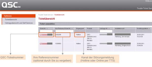 Schnelle Hilfe online über den neuen Trouble Ticket Service für QSC-Partner und -Kunden.