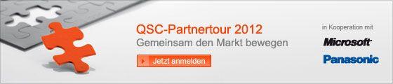 QSC-Partnertour 2012.