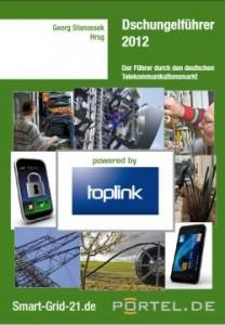 """""""Dschungelführer 2012"""", das Branchenbuch der Telekommunikationsbranche aus dem Portal-21 Onlineverlag."""