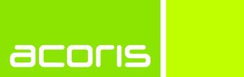 acoris AG mit Sitz in Karlsruhe.