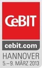 CeBIT: vom 5. bis 9. März 2013 in Hannover.