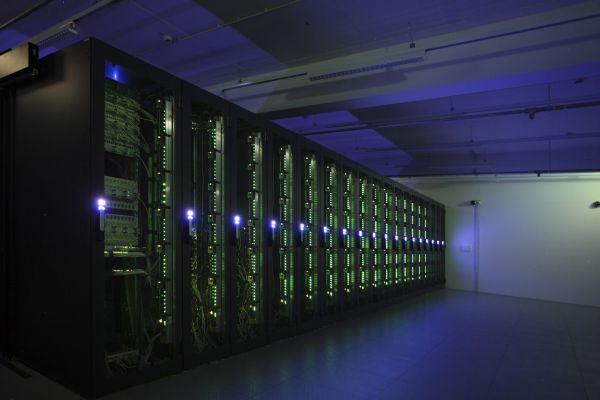 Server im Rechenzentrum der INFO AG: Seit 2012 betreibt das Unternehmen ein eigenes HANA-Competence Center.