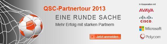 QSC-Partnertour 2013.