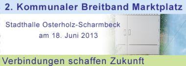 Kommunaler Breitband Marktplatz in Osterholz-Scharmbeck.
