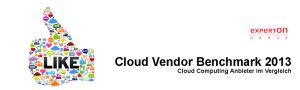 """Studie """"Cloud Vendor Benchmark 2013 der Experton Group"""""""