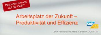 Header für CeBIT 2014: SAP-Stand