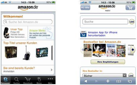 App oder mobile Website? Beides hat Vor- und Nachteile.