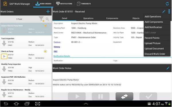 Der SAP Workmanager macht ein Ende mit dem Papier und optimiert die Wartungs- und Instandhaltungsprozesse