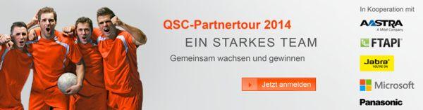 QSC-Partnertour 2014