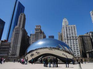 "Chicago: Skulptur ""The Bean"". Foto: Tim Konopka / QSC AG."