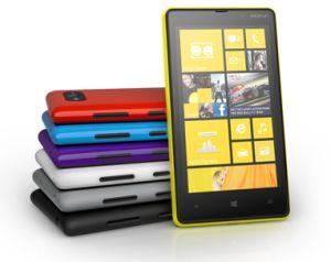 Schick und unternehmenstauglich, aber wenige Apps: Nokia-Smartphone mit Windows Phone. Quelle: Microsoft.