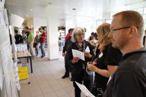 Der Session-Plan entsteht immer erst am Starttag. Foto: Dennis Knake/QSC AG