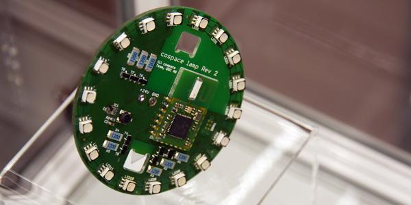 soluconChip auf einer LED-Steuerung