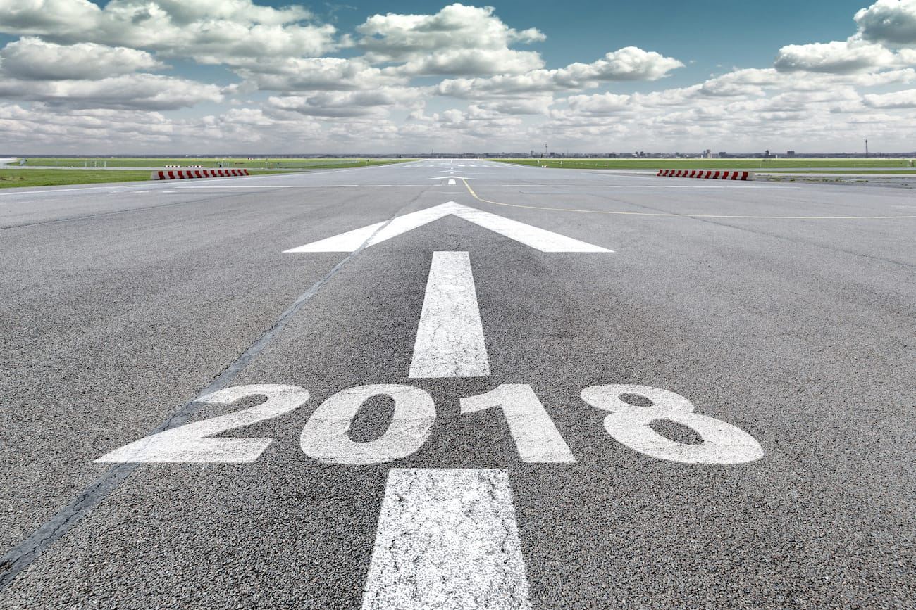Airport runway arrow 2018