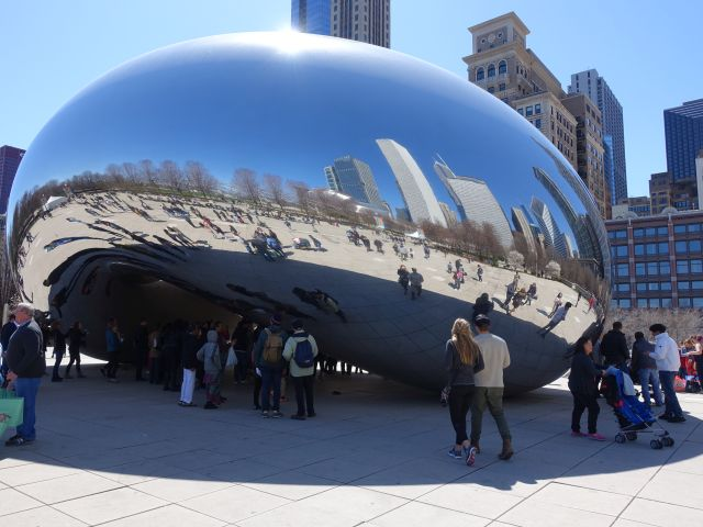 Cloud Gate Chicago. Foto: © QSC AG / Patrick Laube.