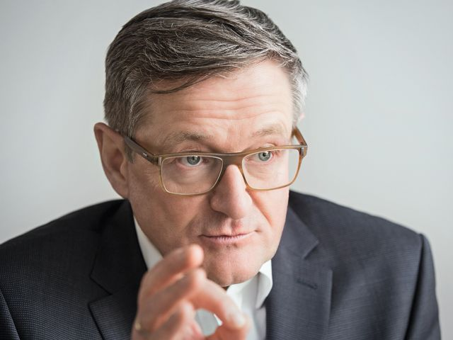 Jürgen Hermann, Vorstandsvorsitzender der QSC AG. Foto: © QSC AG.