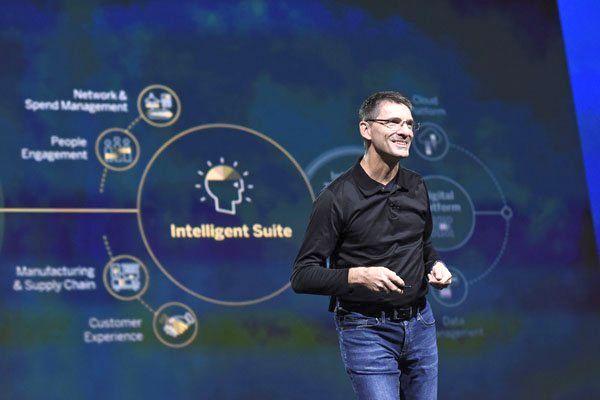 Bernd Leukert, Vorstand bei SAP, eröffnete die TechEd Las Vegas 2018. Foto: © QSC AG.