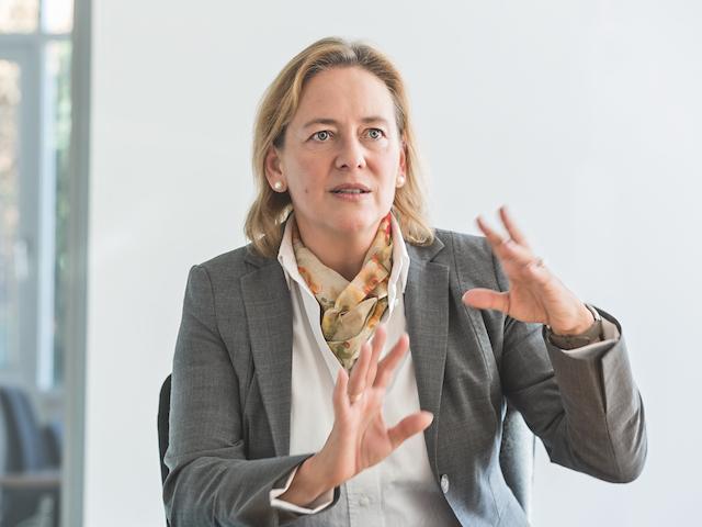 Dr. Myriam Jahn, Q-loud GmbH. Bild: © QSC AG.