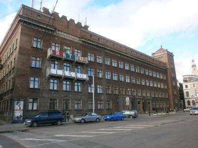 Technische Universität Riga RTU. Bild: © Edgars Košovojs - https://lv.wikipedia.org/wiki/Att%C4%93ls:R%C4%ABgas_Tehnisk%C4%81_universit%C4%81te.jpg, CC BY-SA 3.0, https://commons.wikimedia.org/w/index.php?curid=34511843