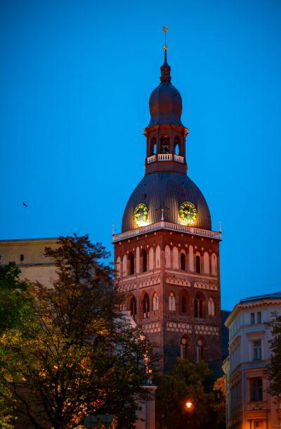 Der 800 Jahre alte Dom gehört zu den Wahrzeichen der ehemaligen Hansestadt Riga. Foto: © Thimo L. Limpert.