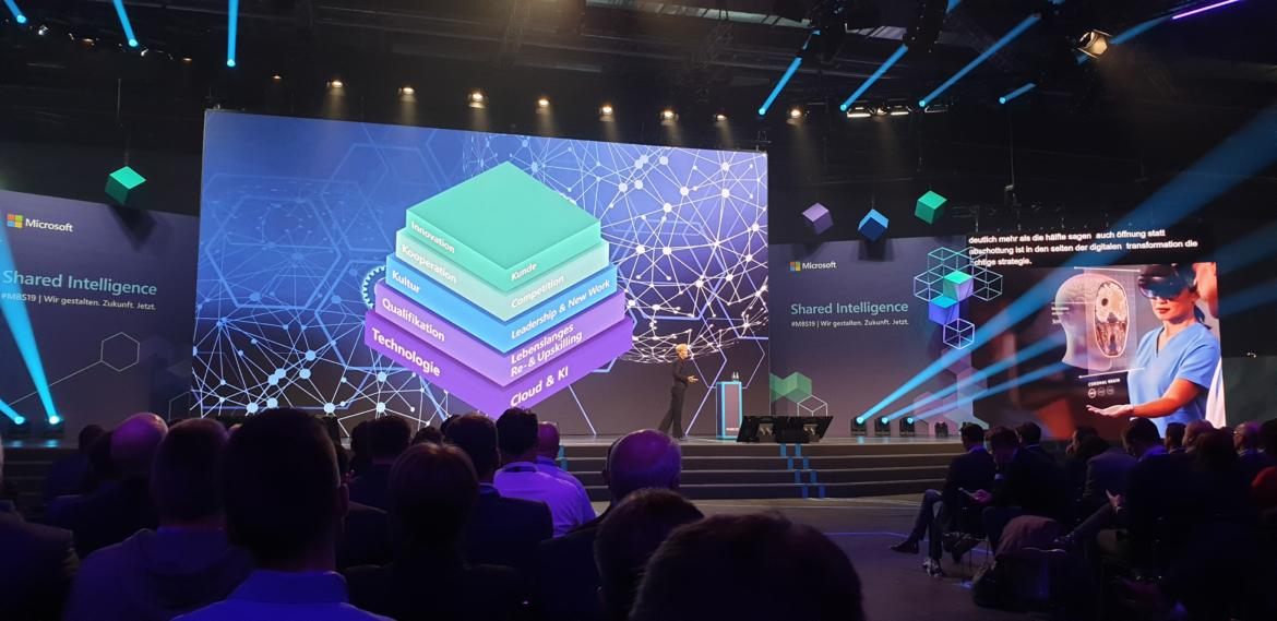 Microsoft Business Summit 2019. Bild: © QSC AG.