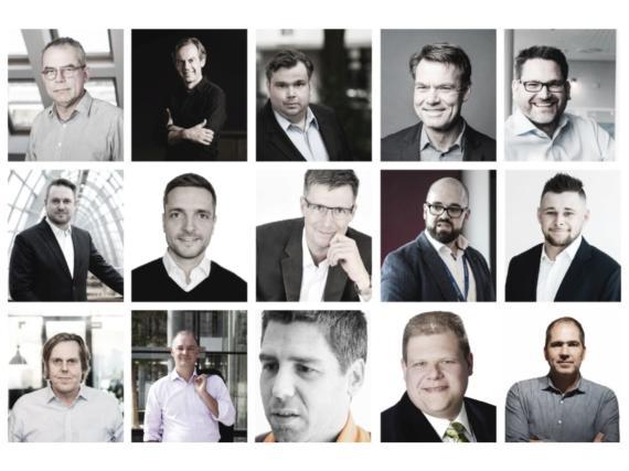 QSC-Expertenstudie 2020. Collage/Porträts: QSC AG