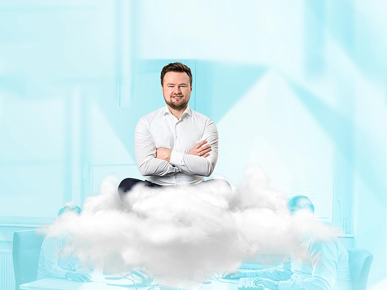 Spannender Job: Softwareentwickler Cloud. Bild: © QSC AG.