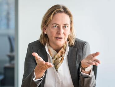 Dr. Myriam Jahn, CEO der QSC-Tochterfirma Q-loud GmbH. Foto: © QSC AG.