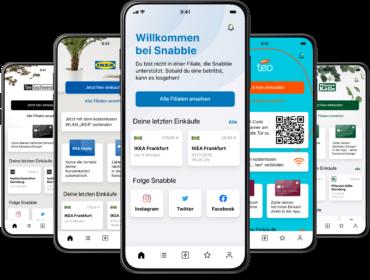 Snabble-App: Bezahlen mit dem eigenen Smartphone. Bild: Snabble GmbH.