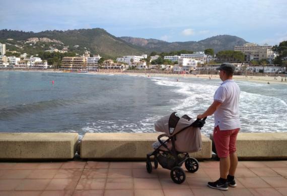 <strong>Elternzeit heißt nicht Urlaub.</strong> Trotzdem verbrachte André einen kleinen Teil seiner Elternzeit am Meer. Bild: © André Röhrich
